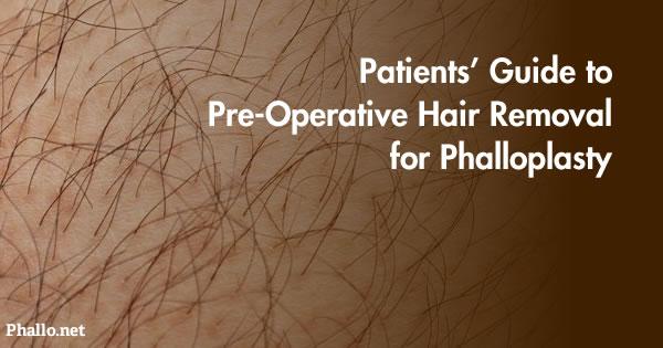 laser hair removal penile shaft
